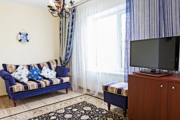 Интерьерная фотосъемка отеля и гостиницы