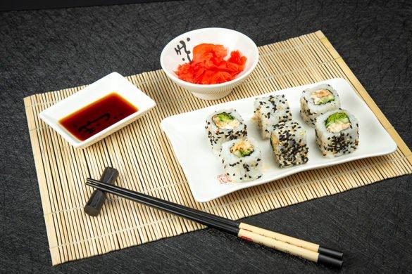 Суши для меню ресторана на заказ