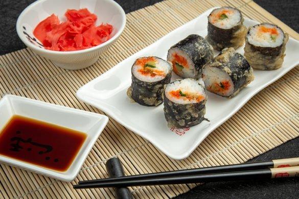 Фотосъемка суши для меню