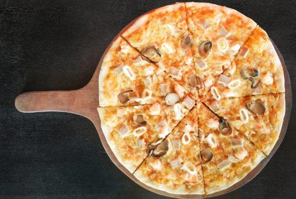 Фотосъемка пиццы для меню