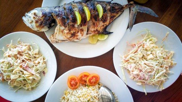 Фотосъемка нескольких блюд в одном кадре