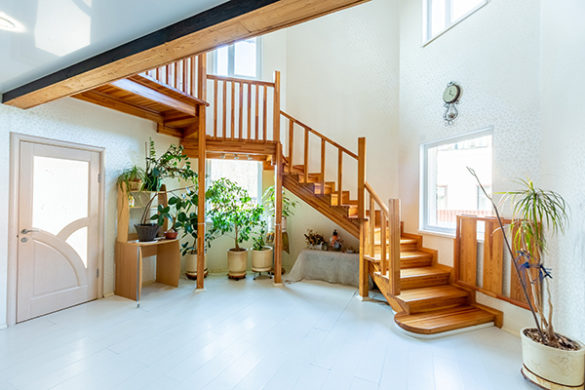 Фото интерьера лестницы